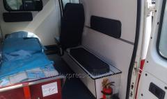Transportation of the patient from Simferopol to