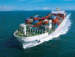 Морские контейнерные перевозки в Черноморском