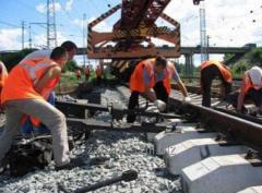 Reconstruction of railway tracks
