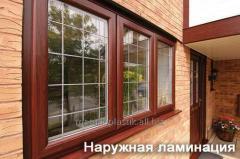 Lamination of the Steko windows