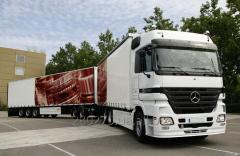Cargo transportation from Latvia to Ukraine