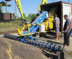 Экспорт аграрных грузов в морских контейнерах