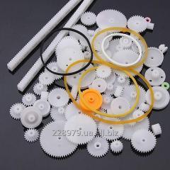 Шестерни, шестернки из пластика изготовлю от 1й