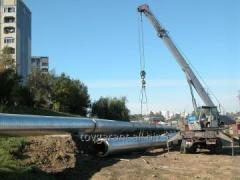 Монтаж внутренних и наружных систем канализации