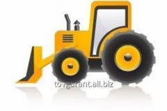 Аренда - Экскаватор на базе тракторов МТЗ и ЮМЗ с ёмкостью ковша 0,25 м3