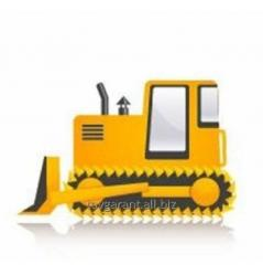 Rent - the Bulldozers DT-75 and DZ-171 with