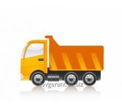 Rental of trucks