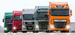 Перевозки грузов из России в Украину