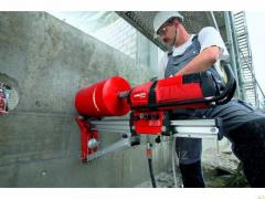 Diamond drilling in reinforced concrete Diameter