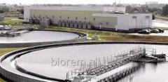 Услуги по очистке вод, очистка сточных вод