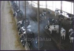 Монтаж систем охлаждения животных