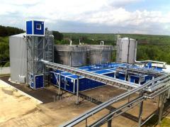 Очистка сточных вод молочных комбинатов, предприятий пищевой и консервной промышленности