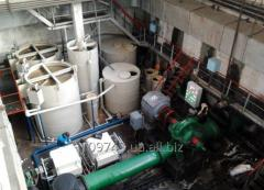 Очистка оборотной воды предприятий по производству питьевой воды
