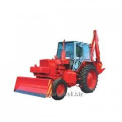 Services, rent of the excavator with a volume of