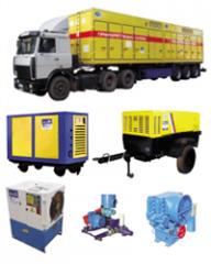 Selection kompressornorgo equipment