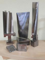 Изготовление лопаток турбины