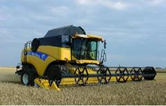 VIBRATION OF THE COMBINE
