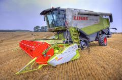 Уборка урожая по всей территории Украины!!!