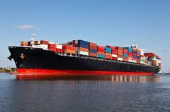 Sea transportation of cargo