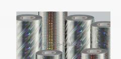 Нанесение псевдо-голографии на рулонные материалы