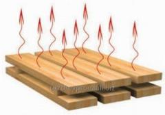 Wood drying service
