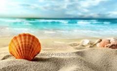 Creation of sandy beaches
