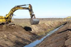 Осушительная гидромелиорация земель