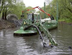 Очистка водоёмов от строительного и бытового мусора