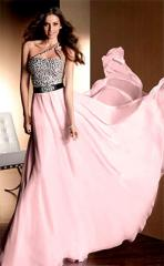 Tailoring of evening, wedding, final dresses in