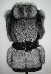 Tailoring, repair, restoration of clothes from fur