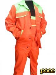 Пошив ,костюм робочий (комбінезон + куртка)