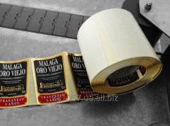 Флексопечать на рулонных самоклеящихся материалах