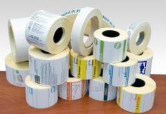 Изготовление термоэтикетки (термо этикетка в рулоне)