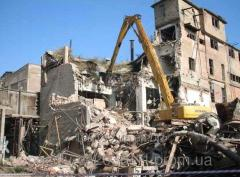 Dismantling of buildings