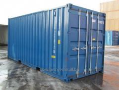 Аренда сухогрузного морского контейнера