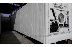 Аренда реф контейнера 40 футов High Cube