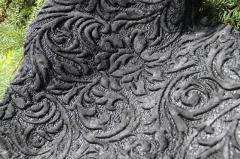 Stamping, Mangling of Fur fabric