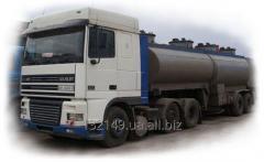 Услуги бензовоза, перевозки нефтепродуктов 15 грн/км