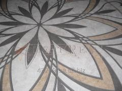 Cutting of ceramic-granite tile