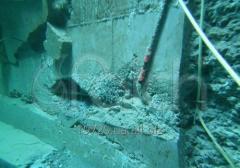Подводная санация бетона,  очистка от ракушечника