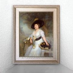 Портрет на заказ в классическом образе