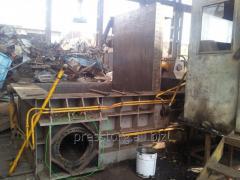 Ремонт китайского оборудования для металлолома