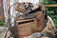 Repair of equipment