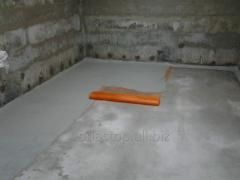 Waterproofing of foundations