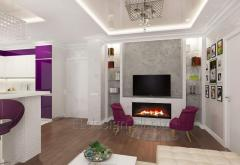 Design- projects of apartments