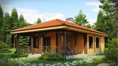 Будівництво під ключ каркасних будинків та котеджів з дерева та