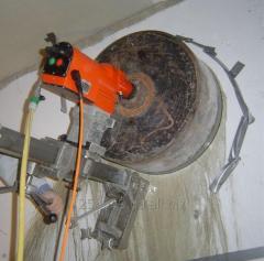 Сверление отверстий большого диаметра