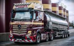 Услуги грузоперевозок жидких грузов автоцистернами