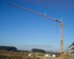 Rent of a tower crane of Liebherr 48.1K