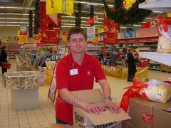 Трудоустройство в Чехии Упаковщики в супермаркет